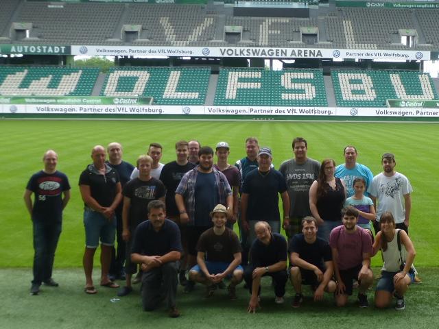Wolfsburg 2016 – Löwenausflug