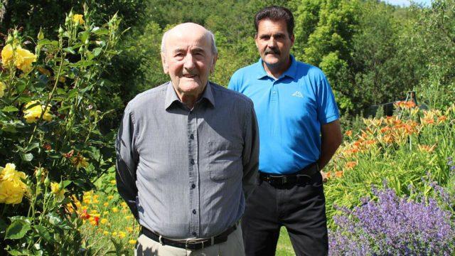 90. Geburtstag: Glückwünsche an ein Geckenauer Original